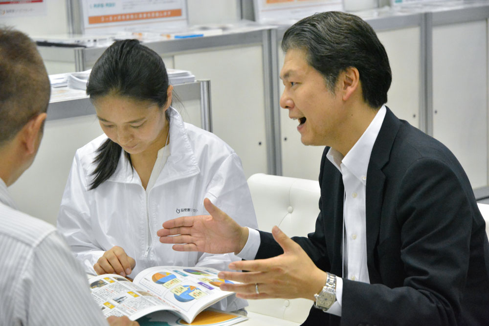 『RE-CARE JAPAN』商談の様子